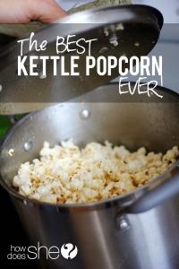 Kettle popcorn = crack.