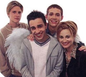 Is that Devon Sawa?! And Marcia Brady?!