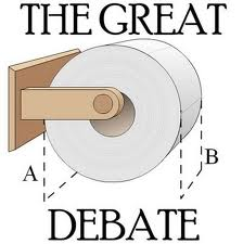 toilet paper great debate