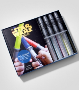 Popsicle molds and a cookbook for your little wookie.