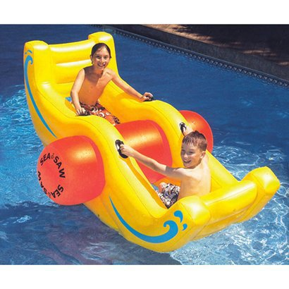 Launch your friends into your neighbor's pool!