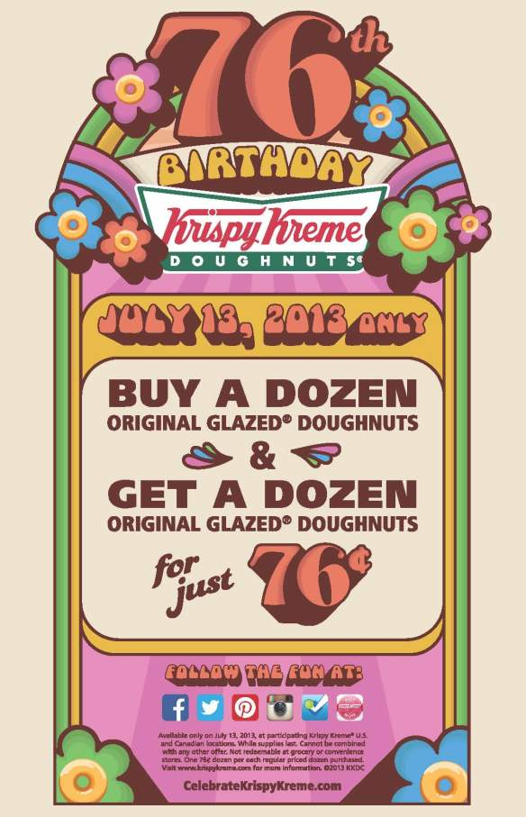 Doughnuts for cheap?! yes please!