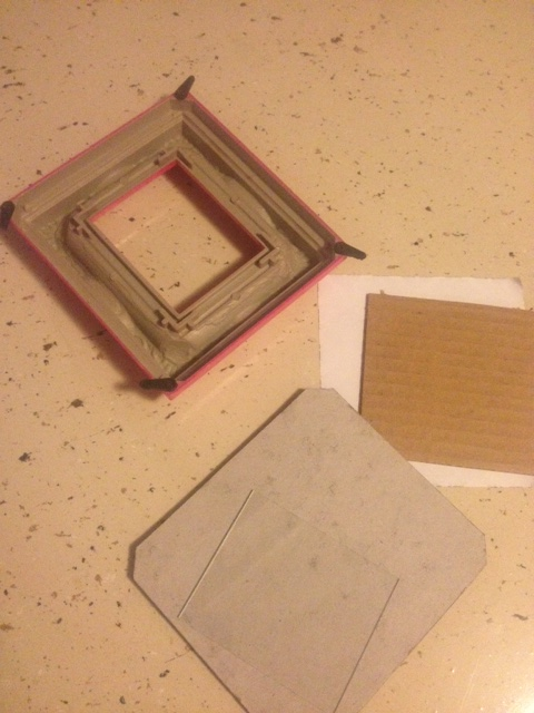This frame actually had a BIG magnet on the back. I may save the magnet for another Try It!