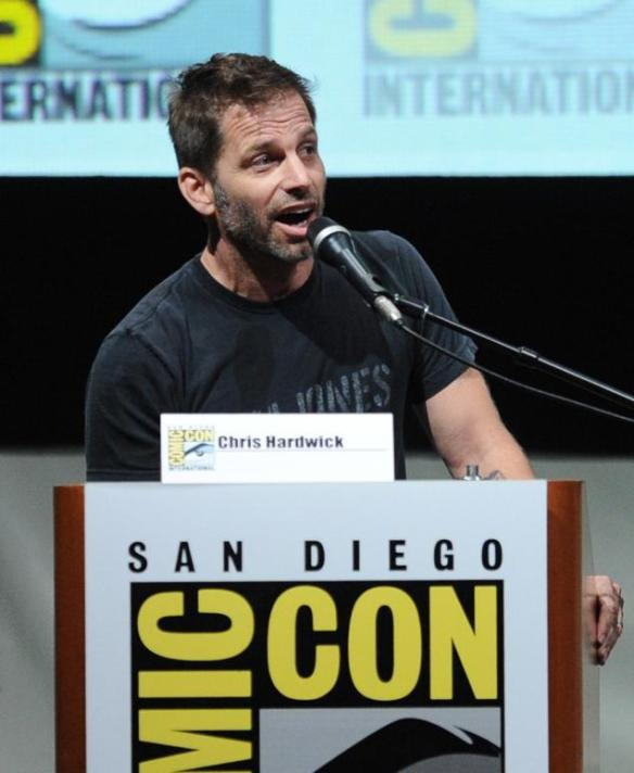 Zack Snyder pretending to be Chris Hardwick.