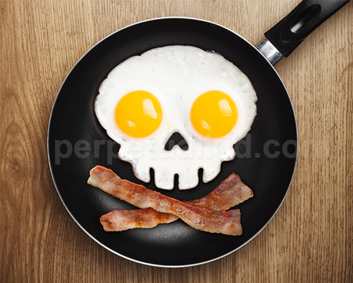 Eat your bacon, matey!
