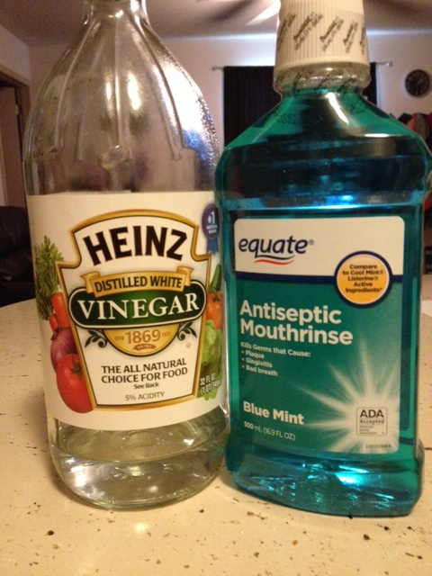 Sure did use the off brand of Listerine!