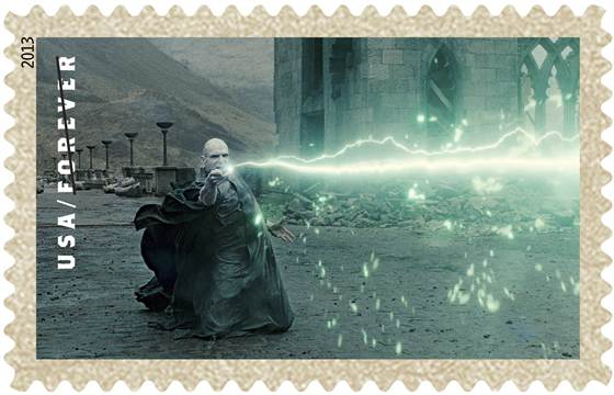"Say ""Avada Kedavra"" to lame stamps!"