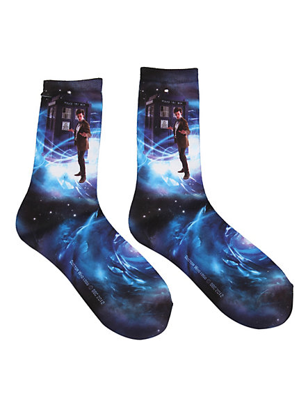 Keep your toes toasty whilst traveling through time and space!