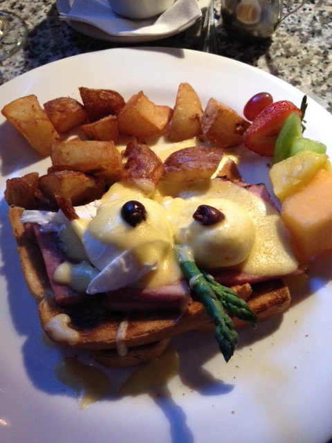 First time EVER to have Eggs Benedict!