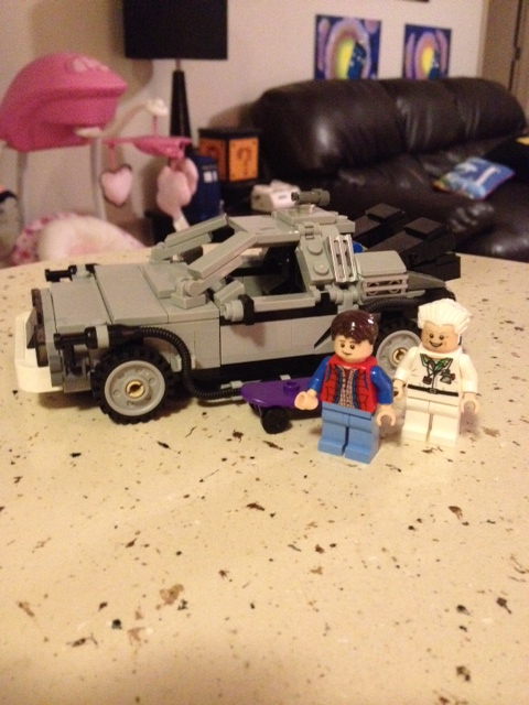 """Doc, are you telling me you made a time machine out of a DeLorean?!"""