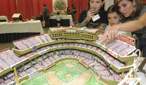 If only all sports had an edible arena.
