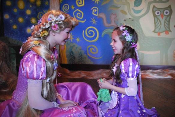 little girl disney princess