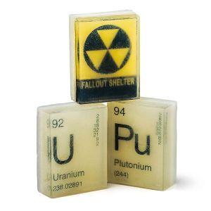 radioactive soap