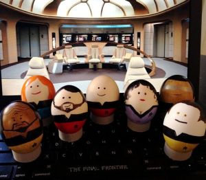 star trek eggs