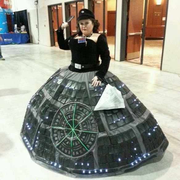 death star cosplay