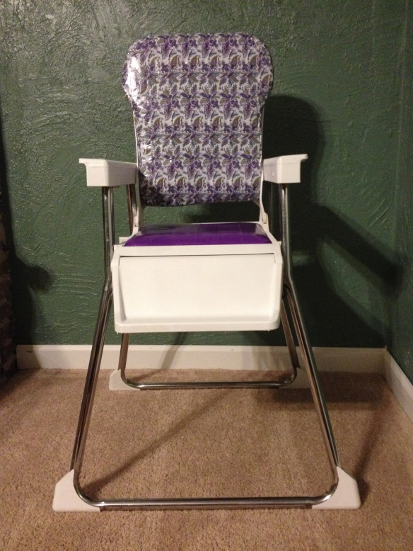 Hippie highchair.