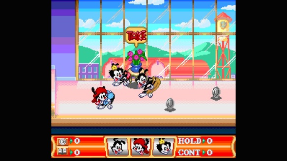 snes animaniacs game