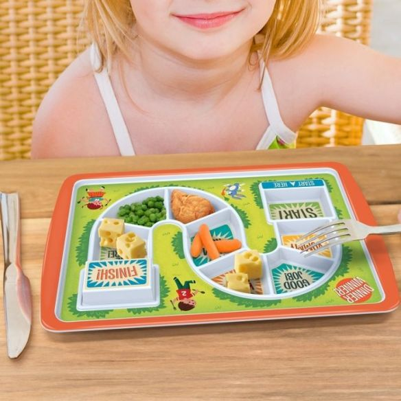 start to finish kids plate
