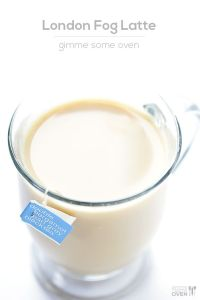 london fog latte pin