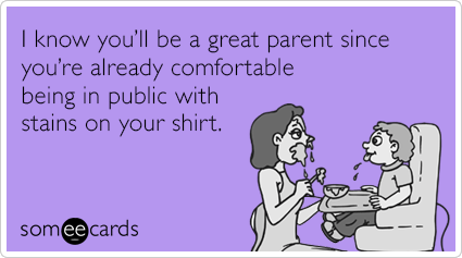 stains on shirt ecard
