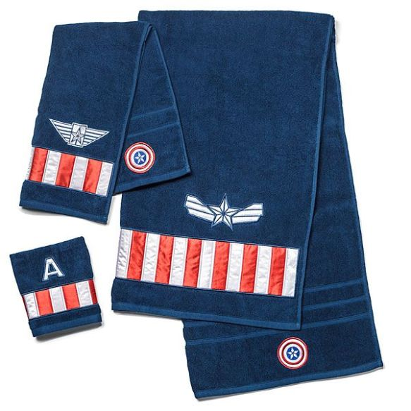 captain american towels