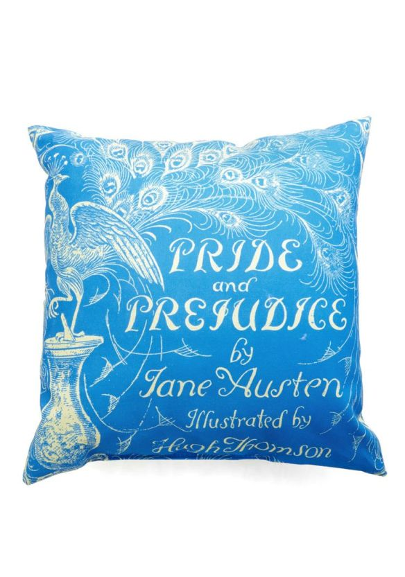 Pride and Prej Pillow
