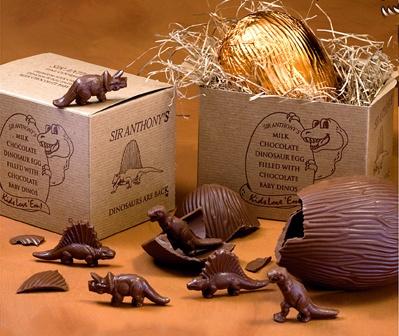 chocolate dinos