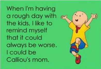 caillou-funny