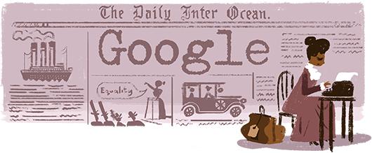 Ida B Wells Google Doodle