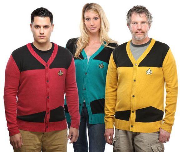 Star Trek Cardigans