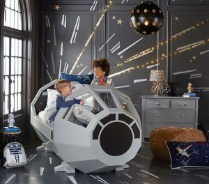Fan Girl Friday Star Wars Bed Pottery Barn
