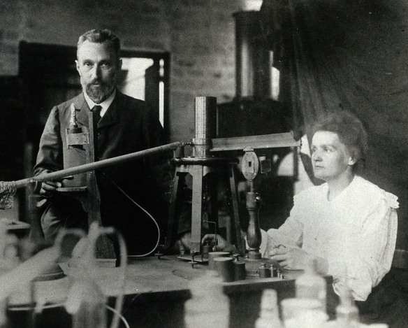 Hers Day Thursday Marie and Pierre Curie