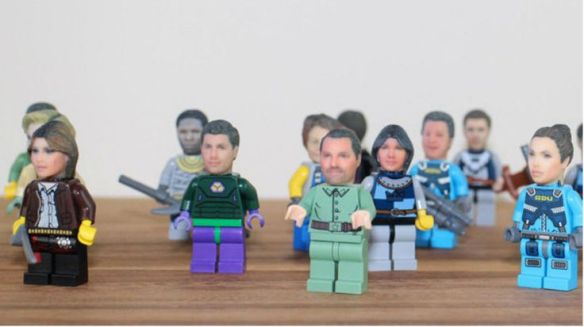 Fan Girl Friday Print Your Face on Legos