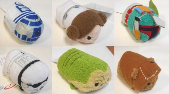 Fan GIrl Friday Star Wars Tsum Tsums