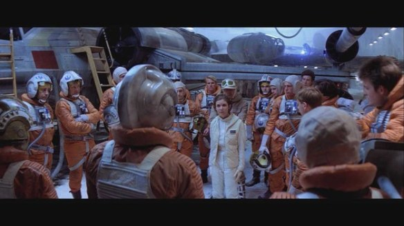 Hersday Thursday Leia organizes Evac and saves lives on Hoth