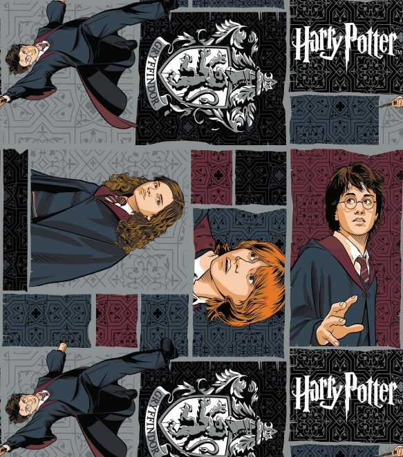 Fan Girl Friday Harry Potter Fabric