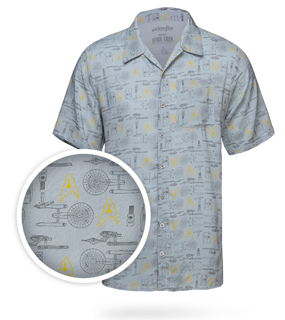 star trek hawaiian shirt