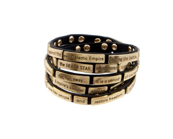 star wars opening paragrpah bracelet