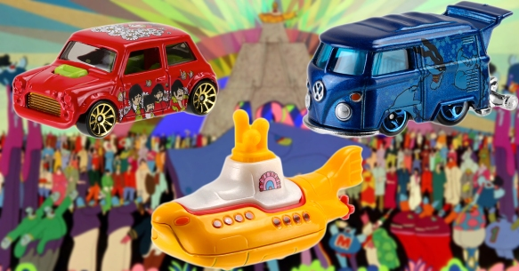 FGF Beatles HotWheels