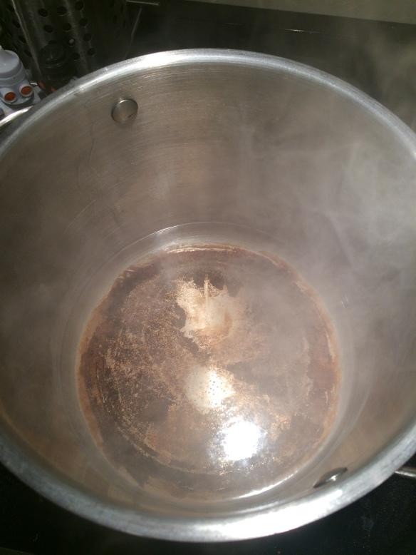 vinegar-boiling