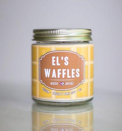El Waffle Candle
