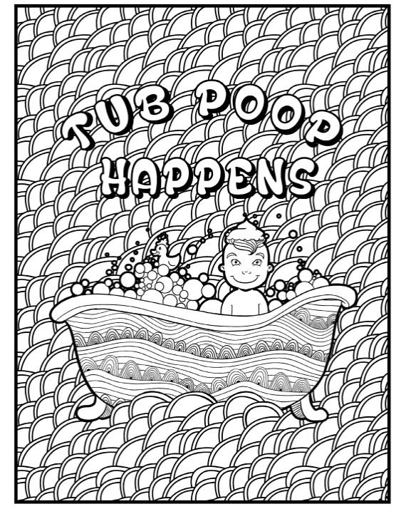 tub poo