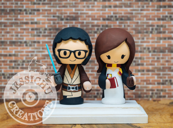 Jedi and Hermione Topper