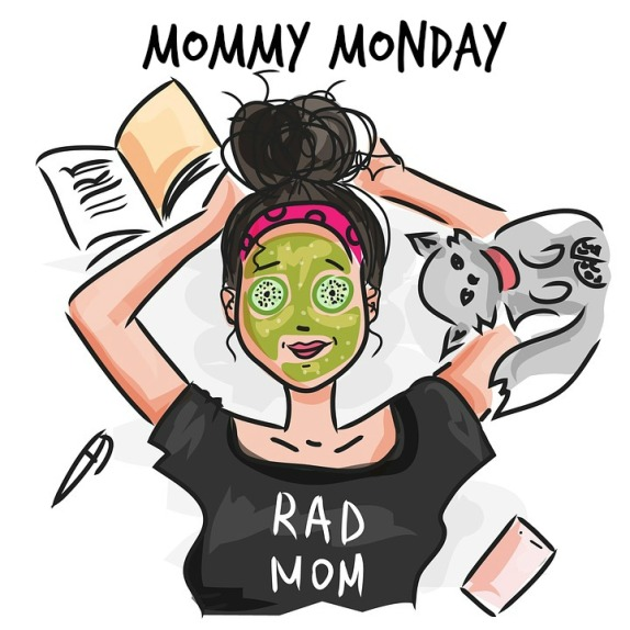 Mommy Monday Header Rad Mom