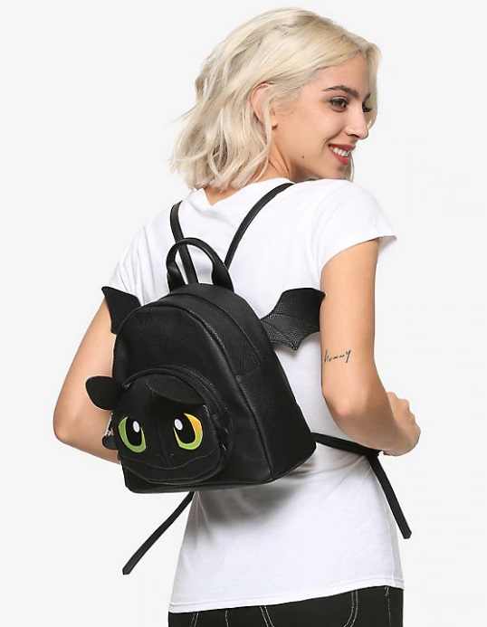 toothless mini backpack